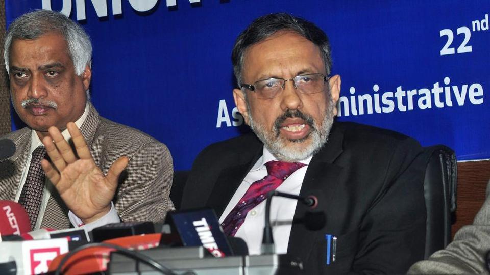 کابینہ سکریٹری راجیو گوبا (فوٹو: پی ٹی آئی)