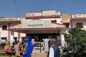 بھرت پور کا زنانہ ضلع ہاسپٹل(فوٹو بہ شکریہ: ٹوئٹر)