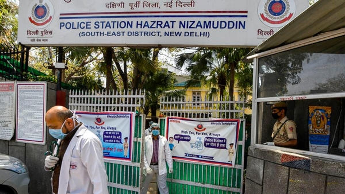 حضرت نظام الدین پولیس اسٹیشن۔ (فوٹو: پی ٹی آئی)