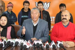لداخ بی جے پی صدر چیرنگ دورجے(فوٹو بہ شکریہ: فیس بک/Cheringdorjaylakrookofficialpage)