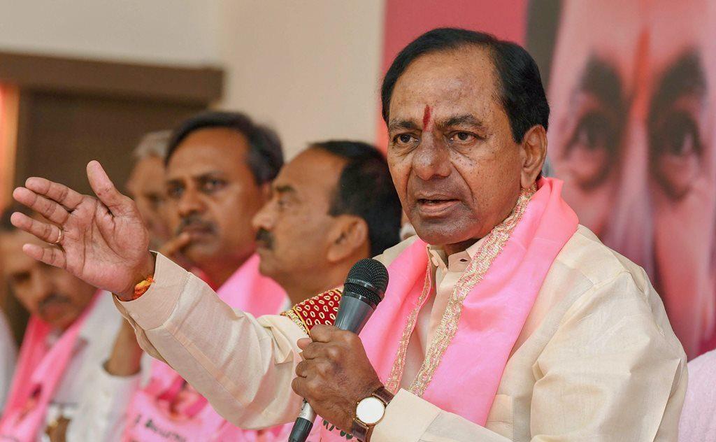 تلنگانہ کے وزیر اعلیٰ کے چندرشیکھر راؤ (فوٹو: پی ٹی آئی)