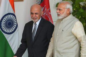 وزیر اعظم نریندر مودی اور افغانستان کے صدر اشرف غنی، فائل فوٹو: پی ٹی آئی