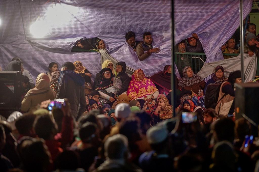 شاہین باغ میں خواتین مظاہرین(فائل فوٹو: پی ٹی آئی)
