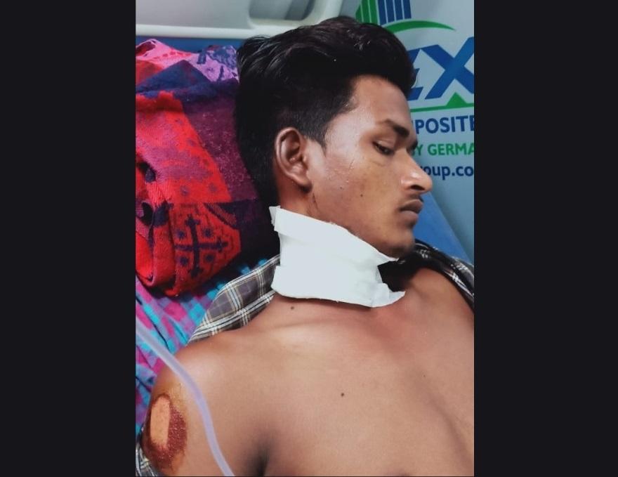 اسپتال میں بھرتی محمد اجرائیل۔