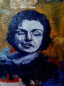 آرٹسٹ سمیعہ سعد نے کشور ناہید کا یہ پورٹریٹ ان کی 79ویں سالگرہ کے موقع پر بنا کر انہیں پیش کیا تھا۔