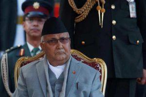 نیپال کے وزیر اعظم کےپی شرما اولی، فوٹو: رائٹرس