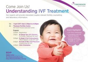 Thomson Fertility Centre-Understanding IVF Treatment-event poster