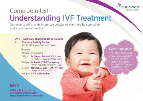 Thomson Fertility Centre-Understanding IVF Treatment-event poster