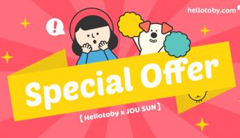 【HelloToby x JOU SUN】 聖誕大優惠 + 教你5道簡易聖誕菜式