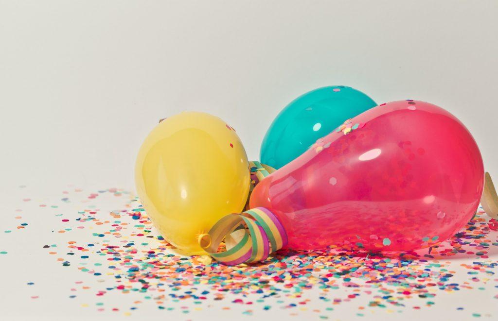 乳膠氣球, 橡膠氣球