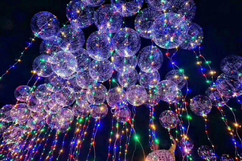 LED氣球, 水晶氣球
