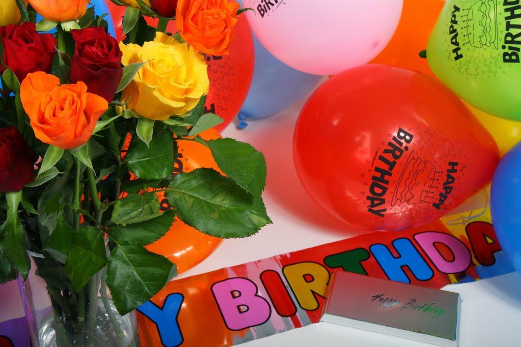 生日派對, 生日會佈置