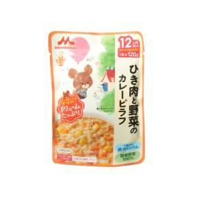 Morinaga Minced Meat With Vegetables Curry Pilaf 130g