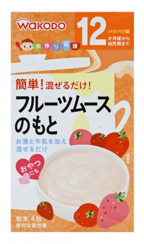Powdered Seasoning for Fruit Mousse (12mth+)