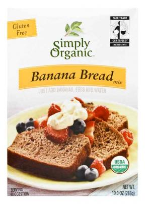 Organic Banana Bread Mix Flour 283g