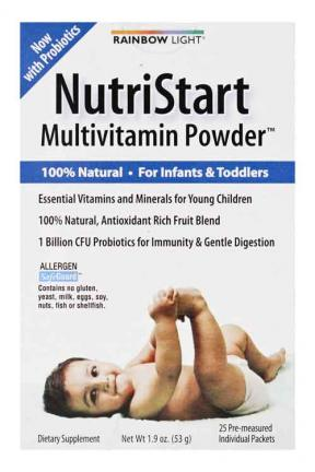 Rainbow Light Nutristart Multivitamin Powder 53g/25packs