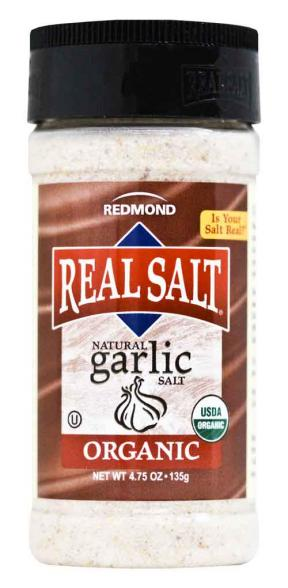 Real Salt Natural Garlic Salt 135g