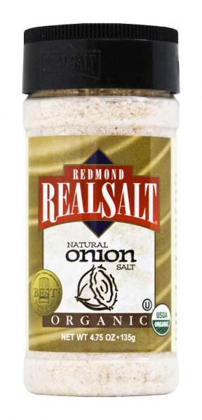 Real Salt Natural Onion Salt 135g