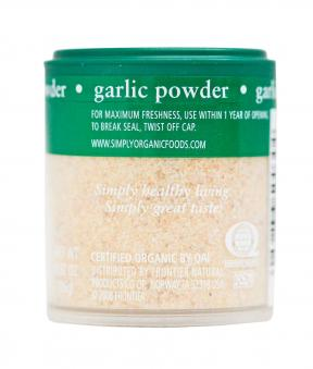 Simply Organic Organic Garlic Powder Shaker 26g
