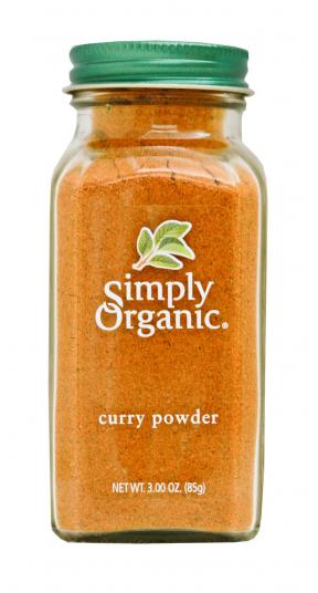 Simply Organic Organic Curry Powder Bottle 85g