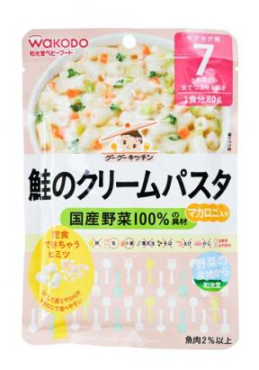 Wakodo Cream Pasta With salmons (7 Mth +)