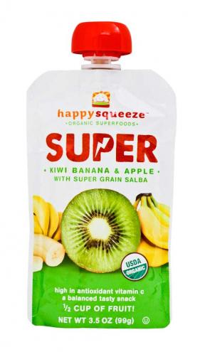 Happy Baby Super Kiwi Banan & Apple 99g