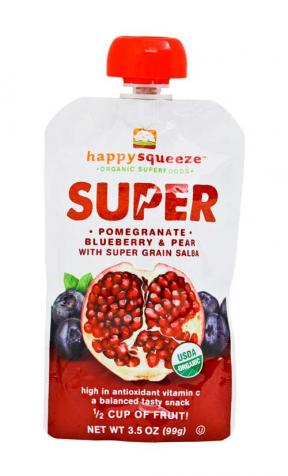 Happy Baby Super Pom, Blueberry & Pear 99g