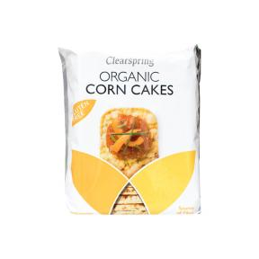 Clearspring Organic Corn Cakes 160g
