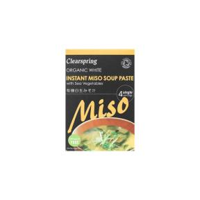 Clearspring Organic White Instant Miso Soup Paste 80g