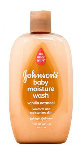 Johnsons & Johnsons Moisture Wash Vanilla Oatmeal 443ml