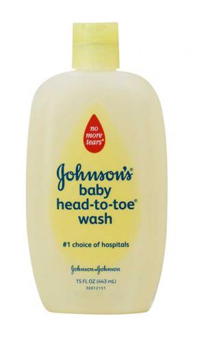 Johnsons & Johnsons Head To Toe Baby Wash 443ml