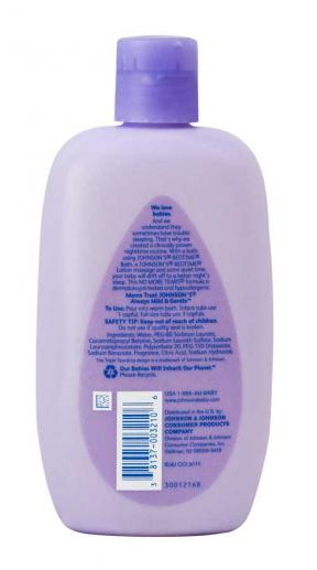 Johnsons & Johnsons Bedtime Baby Bath 266ml