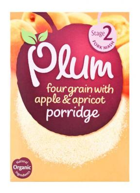 Plum UK Four Grain with Apple & Apricot 175g