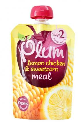 Plum UK Lemon Chicken & Sweetcorn Meal	130g