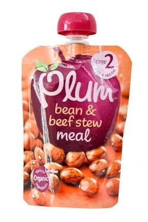 Plum UK Bean & Beef Stew Meal	130g
