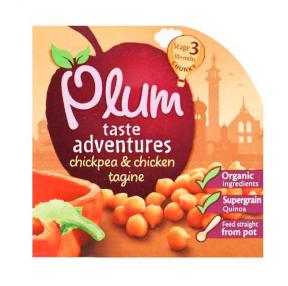 Plum UK Chickpea & Chicken Tagine 	190g
