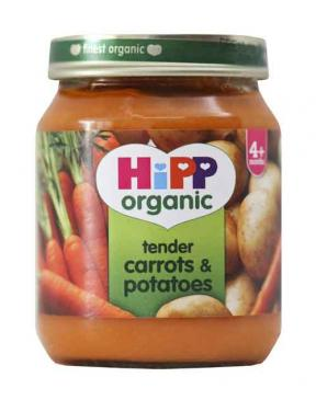 Hipp Tender Carrots & Potatoes	125g