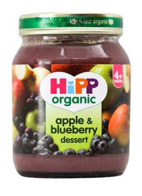 Hipp Apple & Blueberry Dessert	125g