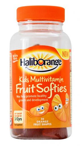 Haliborange Kids Multivitamin Fruit Softies 	30sftgels