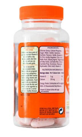 Haliborange Kids Vitamin D Calcium Softies	30sftgels