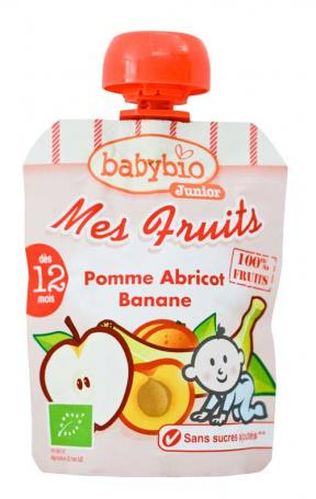 Babynat My Fruits Apple Apricot Banana 90g