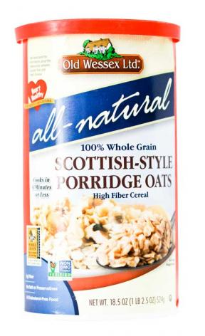 Old Wessex Natural Scottish-Style Porridge Oats	524g