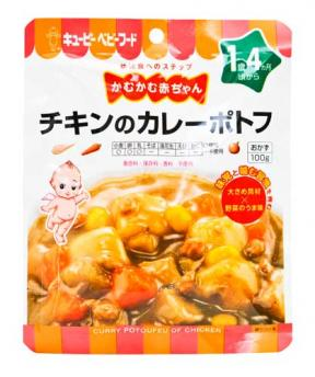 Kewpie Curry Potoufeu With Chicken (16mth+) 100g