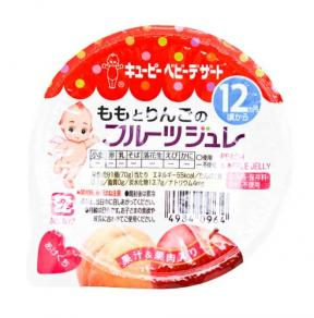 Kewpie Peach & Apple Jelly (12mth+)	70g