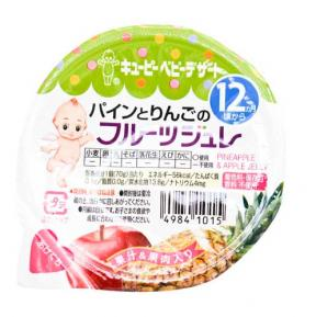 Kewpie Pineapple & Apple Jelly (12mth+) 70g