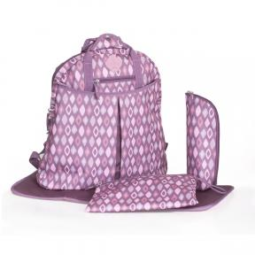 Freckles Backpack Purple/Pink Rombe