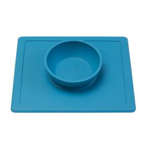 EZPZ Happy Bowl in Blue