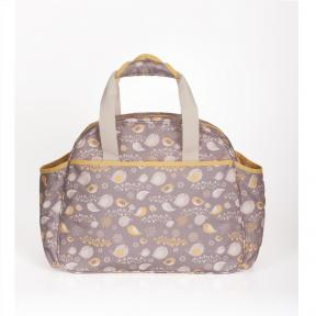 Freckles Travel Bag Yellow/Grey Bird