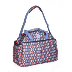 Freckles Travel Bag Blue/Red Rombe