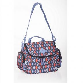 Freckles Cooler Bag Blue/Red Rombe
